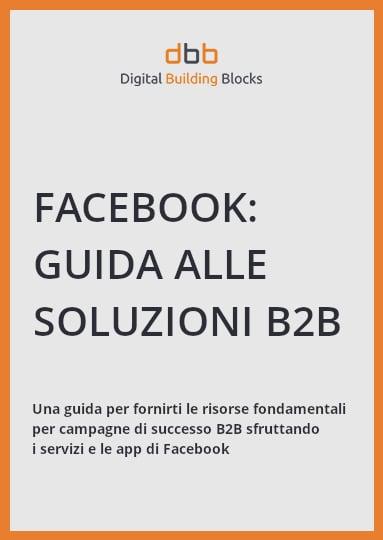 Facebook guida alle soluzioni b2b